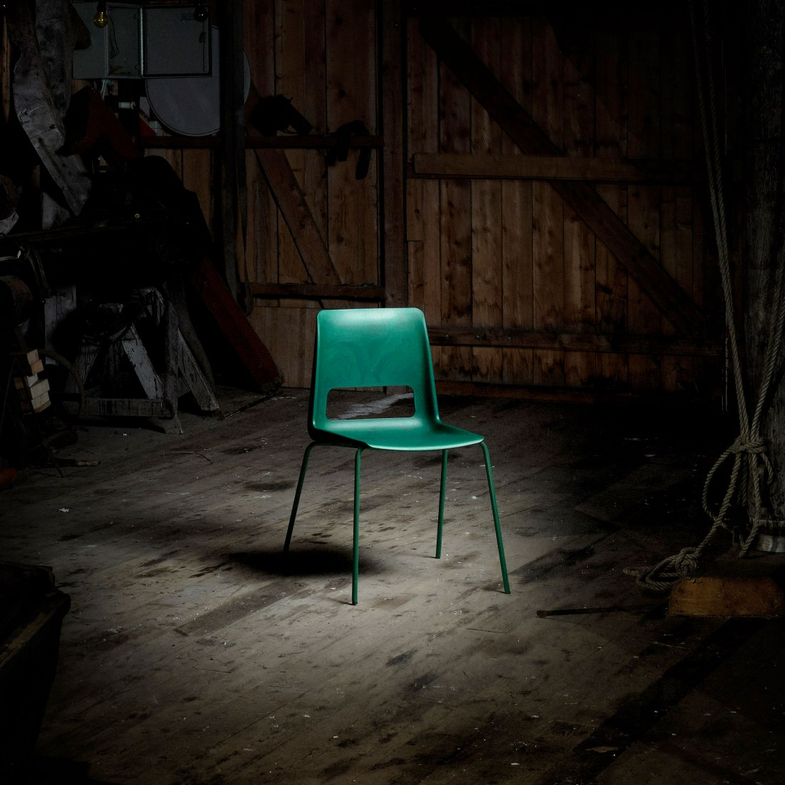 S-1500: chair by Snøhetta. Photograph by Bjørnar Øvrebø