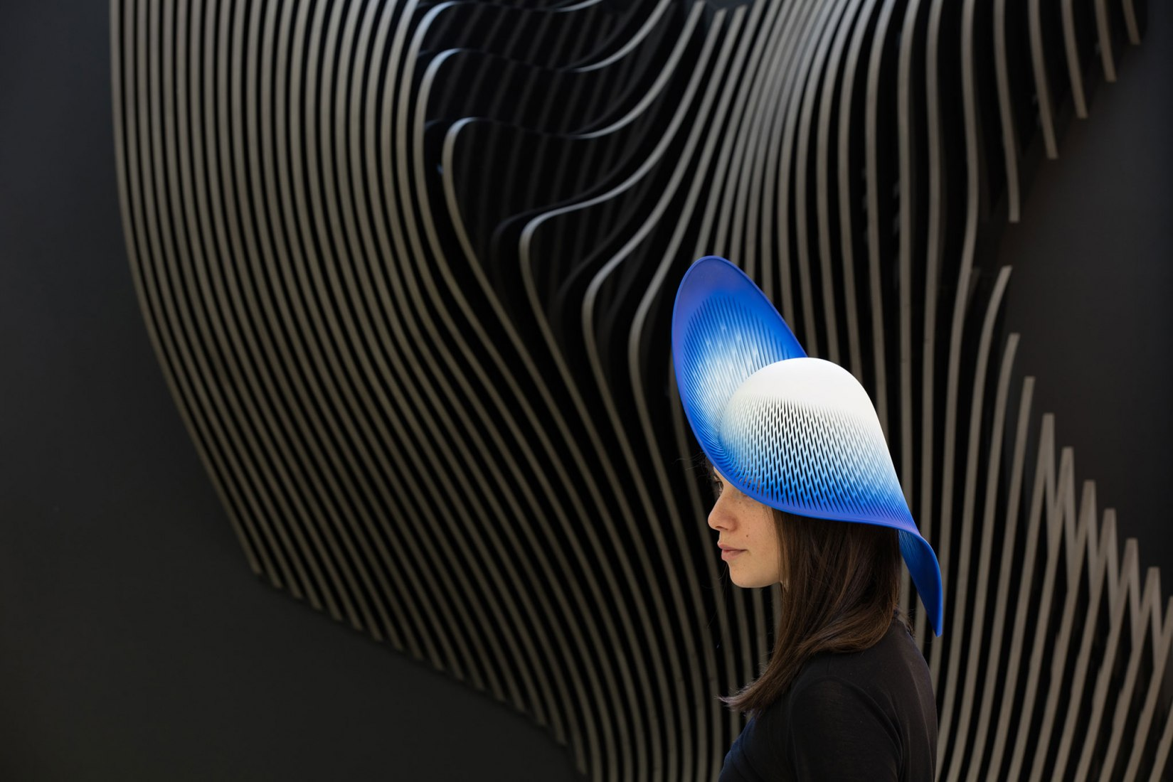 H-Line Hat by Zaha Hadid Architects. Photograph by Luke Hayes