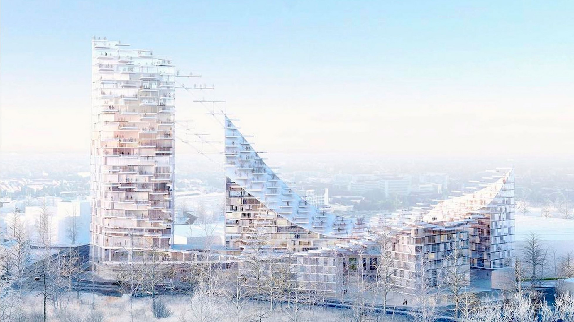 Sou Fujimoto and AWAA win Brussels housing contest