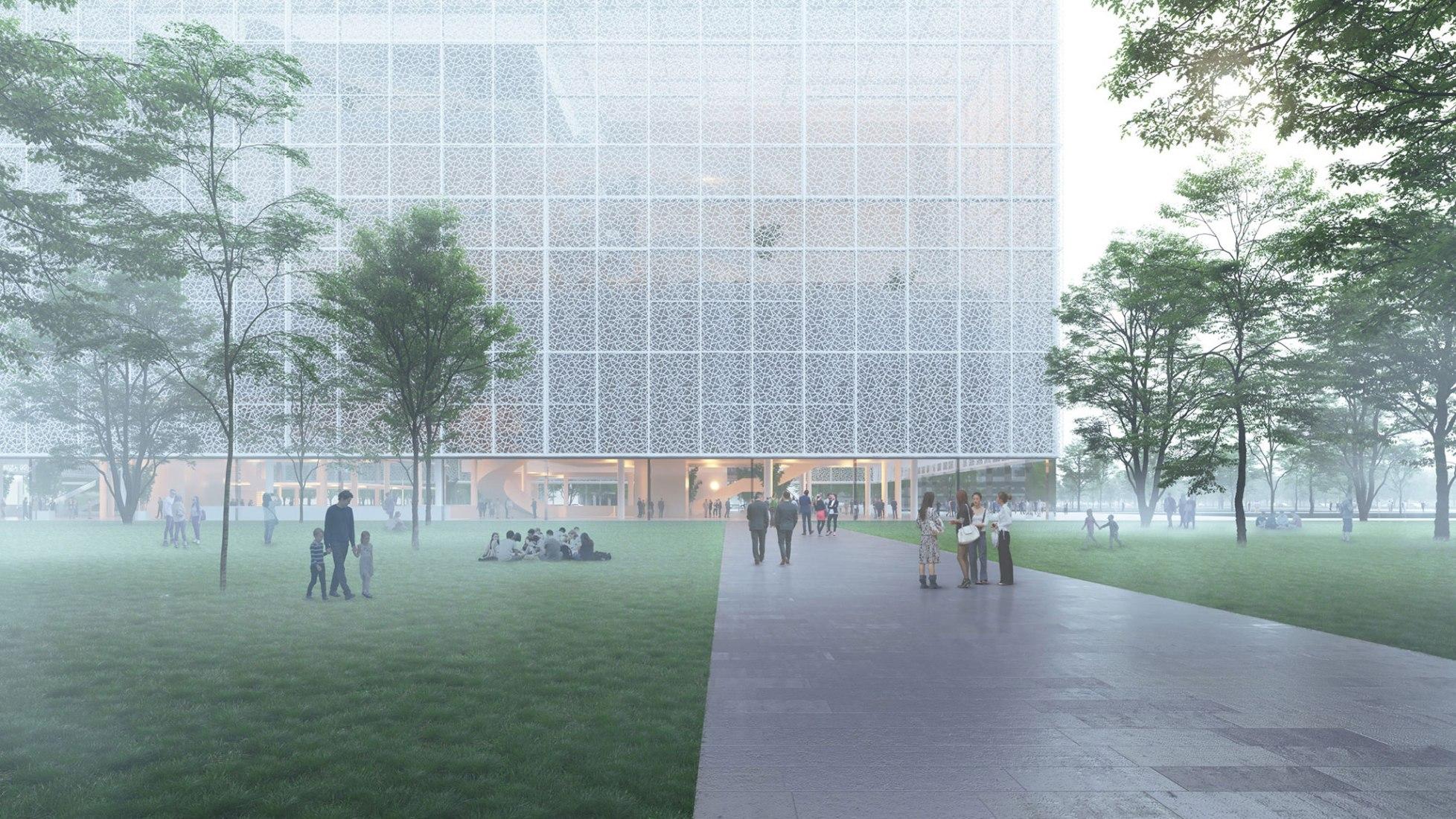 Renderings courtesy of Sou Fujimoto Architects.