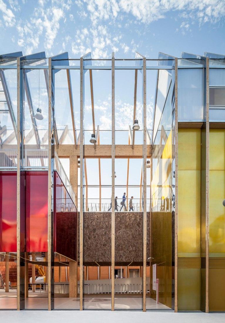 Pabellón de España para la Expo de Milán 2015 por b720. Fotografía © Adrià Goula.