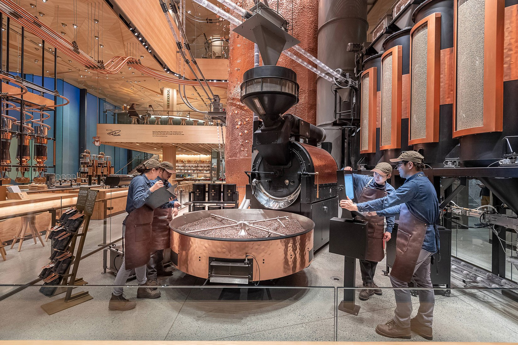 Starbucks Reserve Roastery in Tokyo. Image courtesy of Starbucks.
