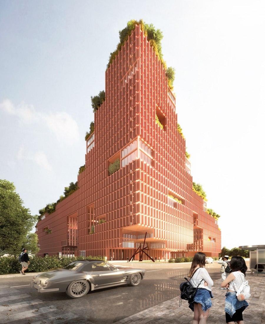Centro de Rehabilitation en Shenzhen, China por Stefano Boeri Architetti