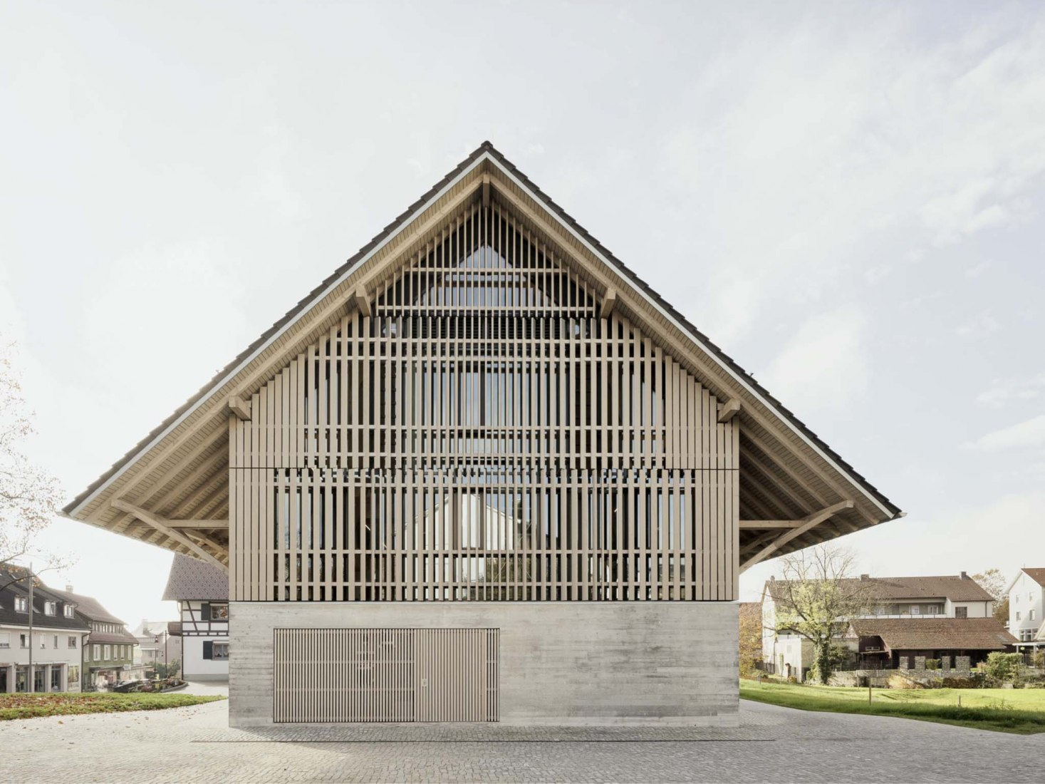 Bibliothek Kressbronn a.B por Steimle Architekten. Fotografía por Brigida González