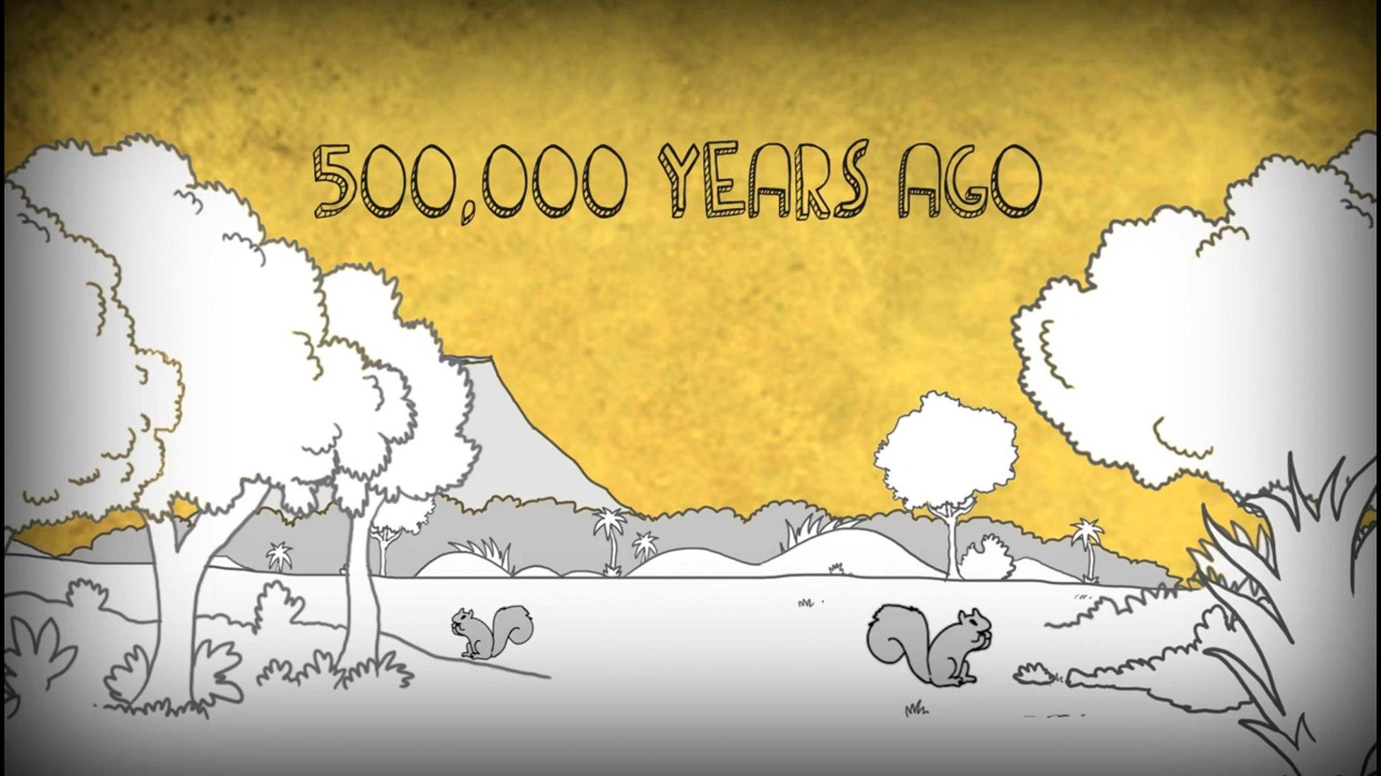 MAN. historia animada de Steve Cutts