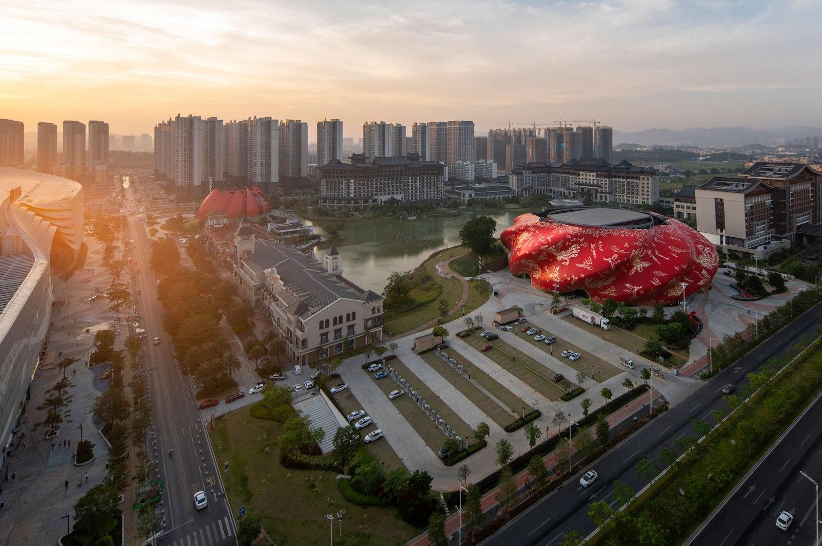 Gran Teatro Sunac Guangzhou por Steven Chilton Architects. Fotografía por Chong‐Art Photography