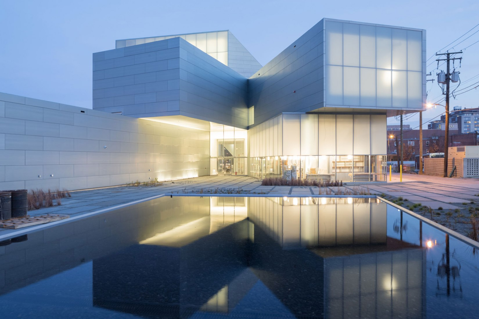 Institute for Contemporary Art, VCU por Steven Holl Architects. Fotografía © Iwan Baan