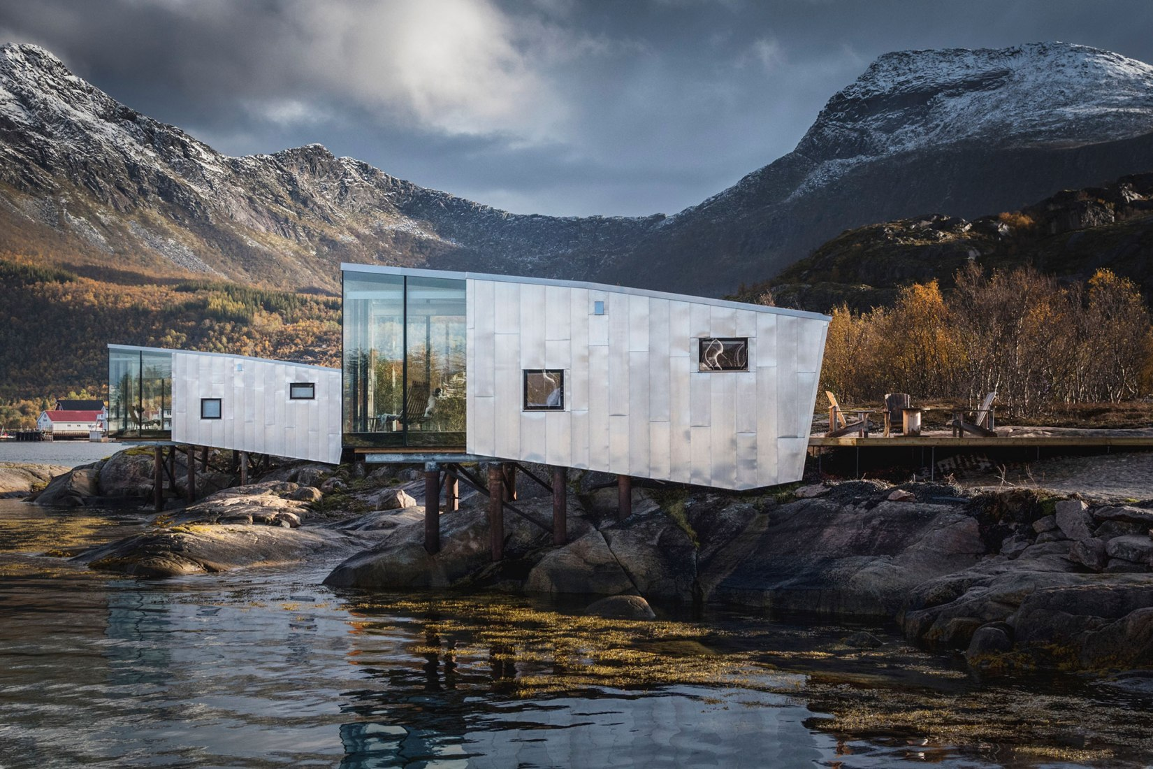 Manshausen 2.0 extension Island Resort by Stinessen Arkitektur. Photograph by Adrien Giret