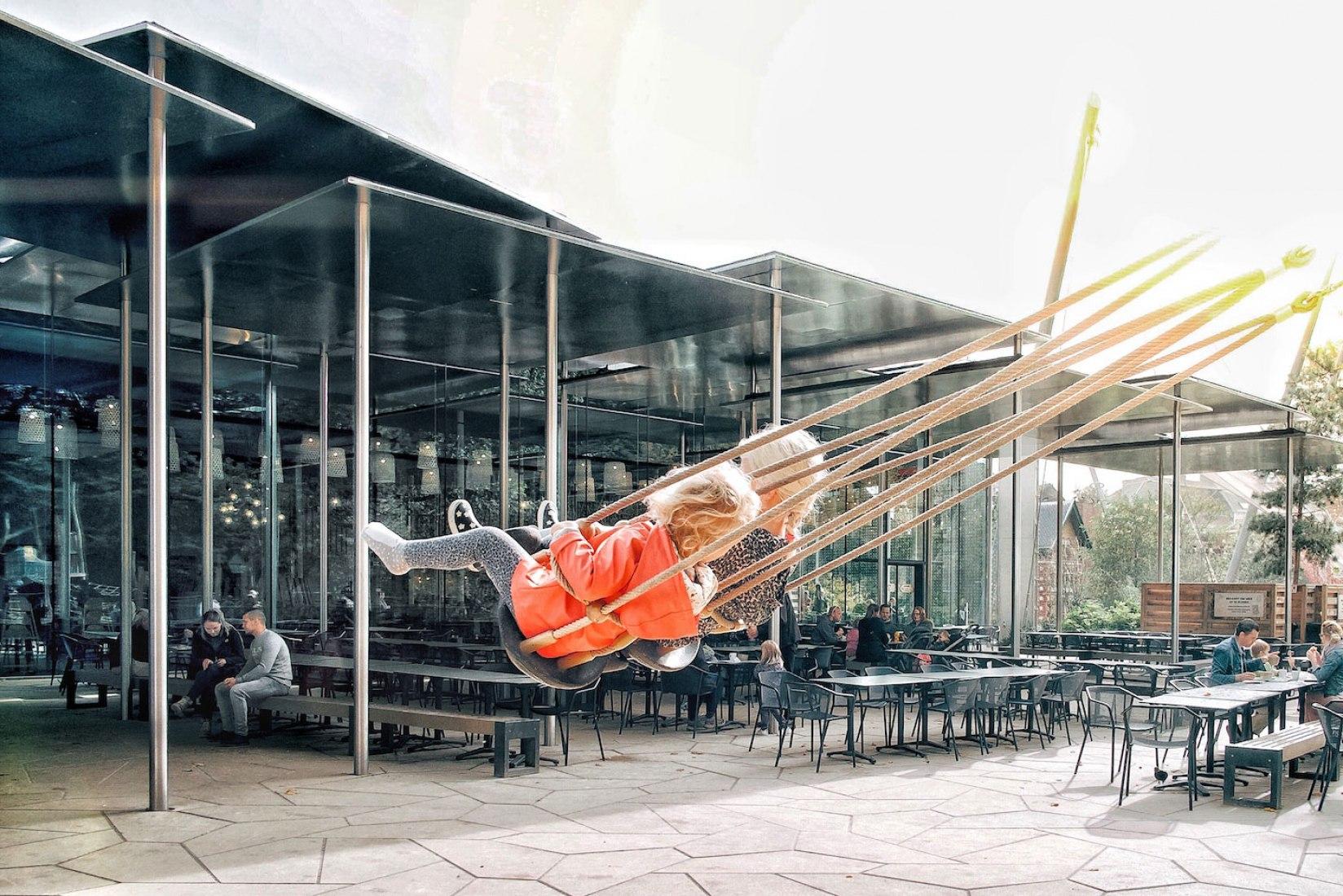 Exterior view. Antwerp Zoo by Studio Farris Architects. Photography Martino Pietropoli