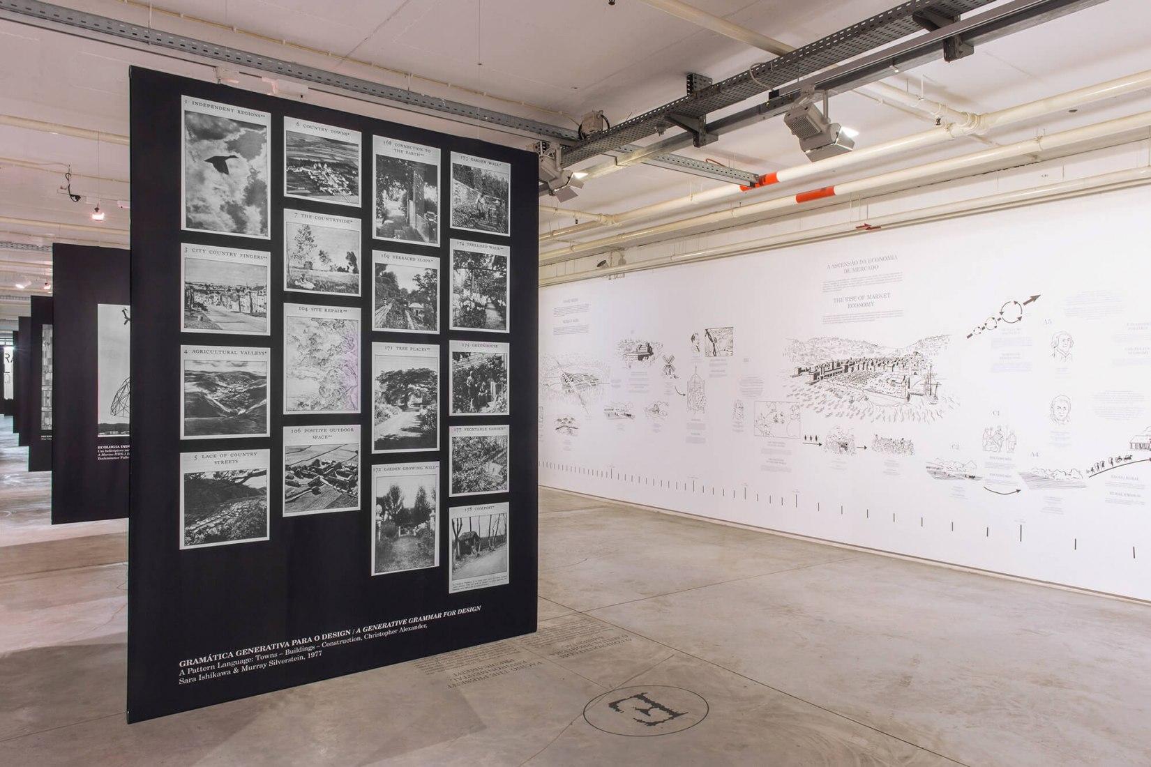 Agriculture and Architecture: Taking the Country's Side, Comisario Sébastien Marot | Garagem Sul – CCB | Fotografía por Fábio Cunha