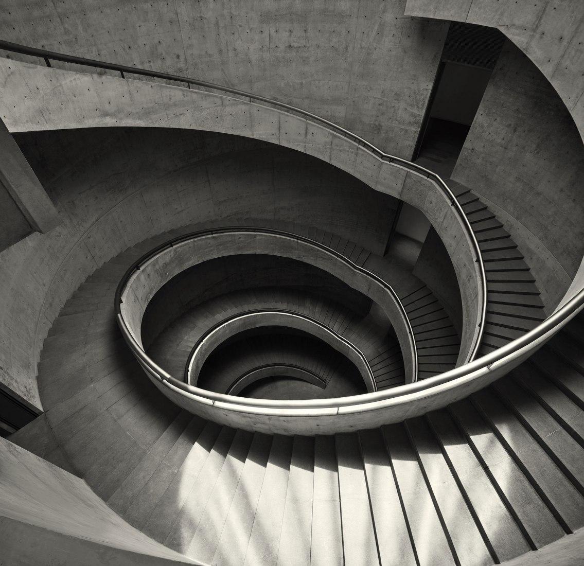El Museo de Arte He de Tadao Ando Architect & Associates. Imagen cortesía del Museo de Arte He