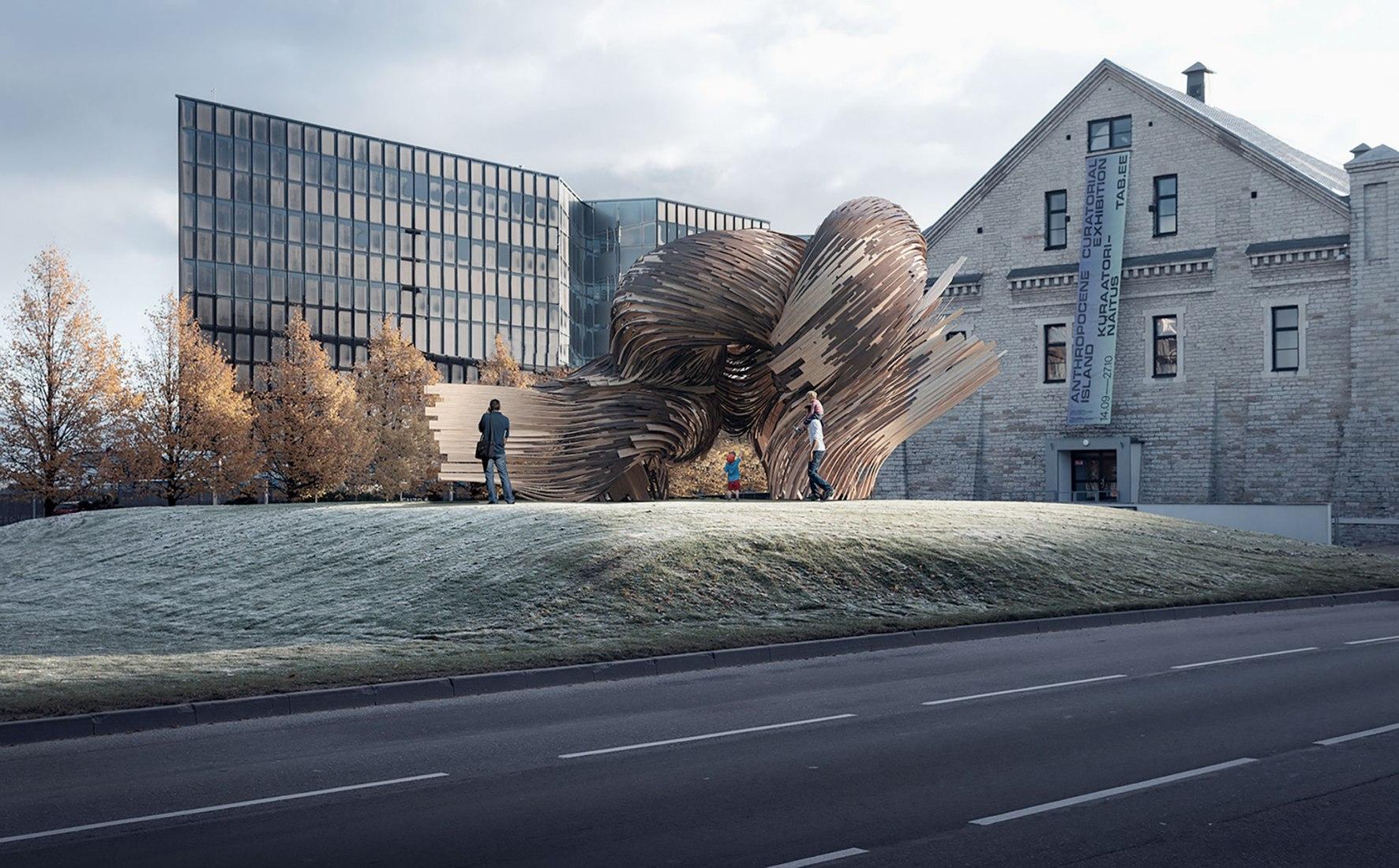Rendering. Steampunk, designed by SoomeenHahm Design, Igor Pantic and Fologram