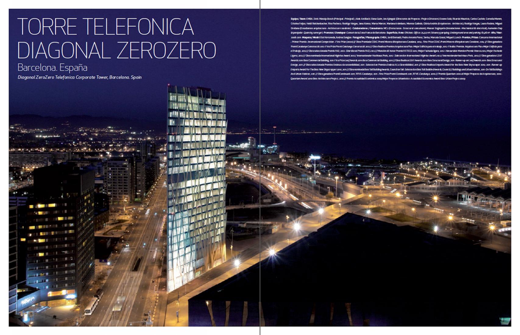 Páginas interiores. EMBA: Enric Massip-Bosch Arquitectura 2005-2015. TC Cuadernos Nº 121. Imagen cortesía de TC Cuadernos.