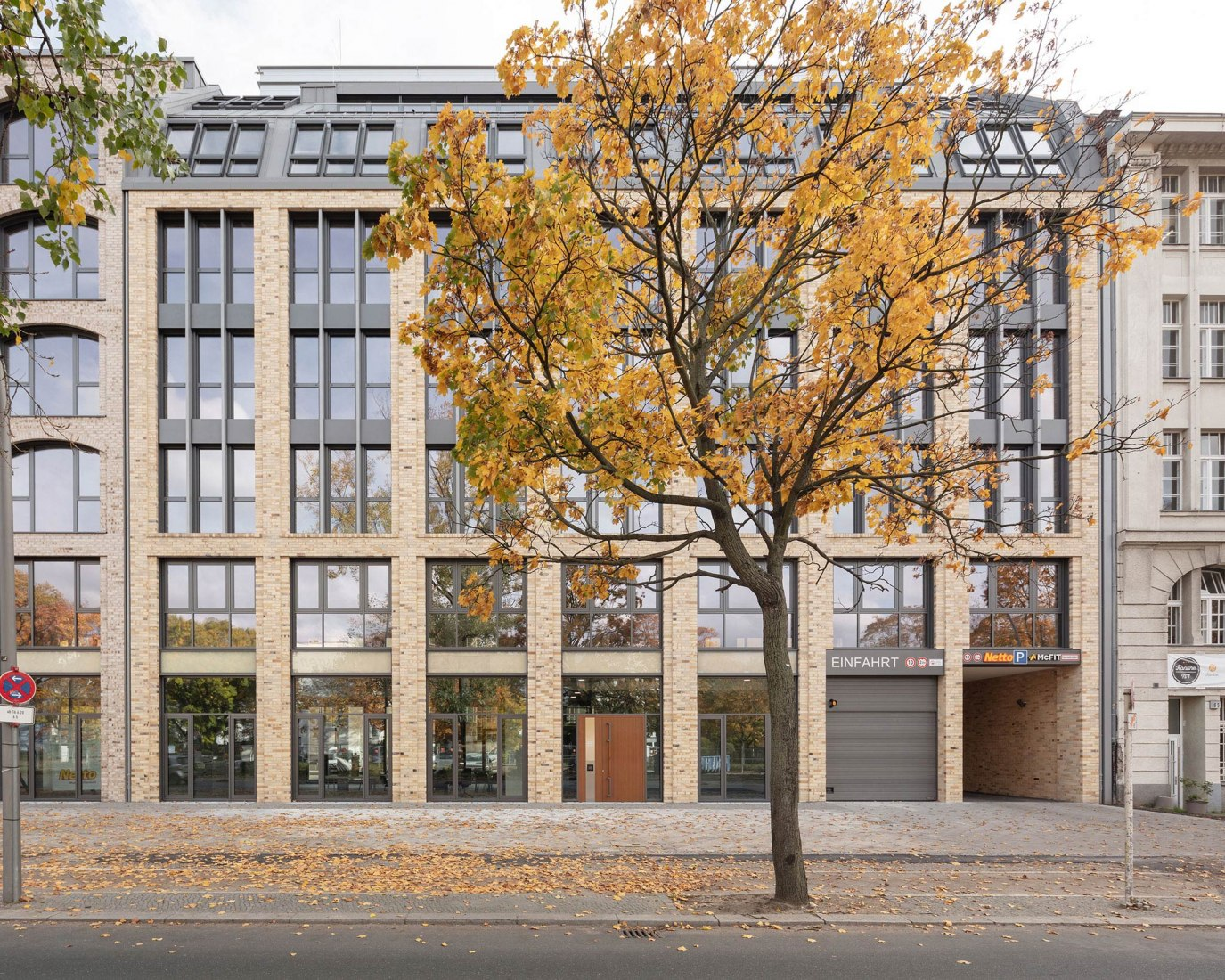 Seestrasse 65-66 Edificio de oficinas por Tchoban Voss Architekten. Fotografía por Klemens Renner