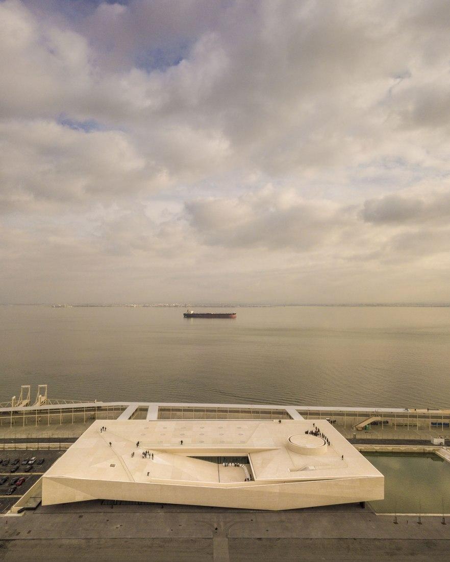 Lisbon Cruise Terminal by João Luís Carrilho da Graça. Photograph by FG+SG.