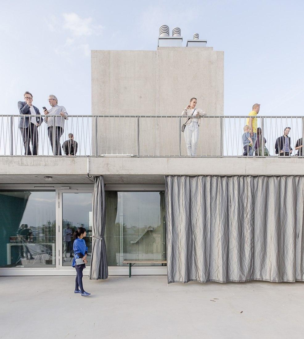 Terrassenhaus Berlin by Brandlhuber + Emde, Burlon + Muck Petzet. Photograph by David von Becker