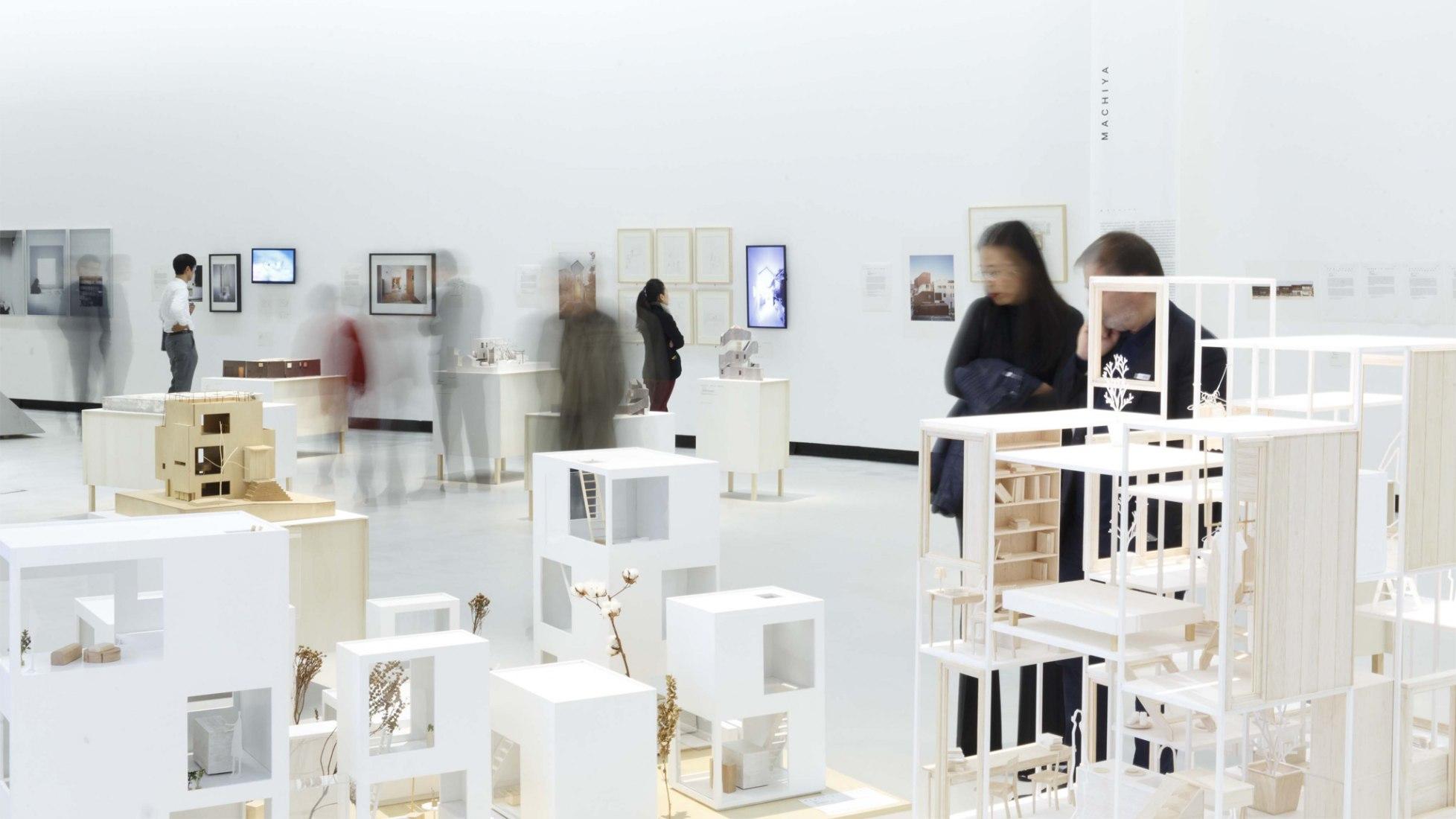 Muestra de la exposición: La casa japonesa: Arquitectura y vida después de 1945. Fotografía © Musacchio & Ianniello
