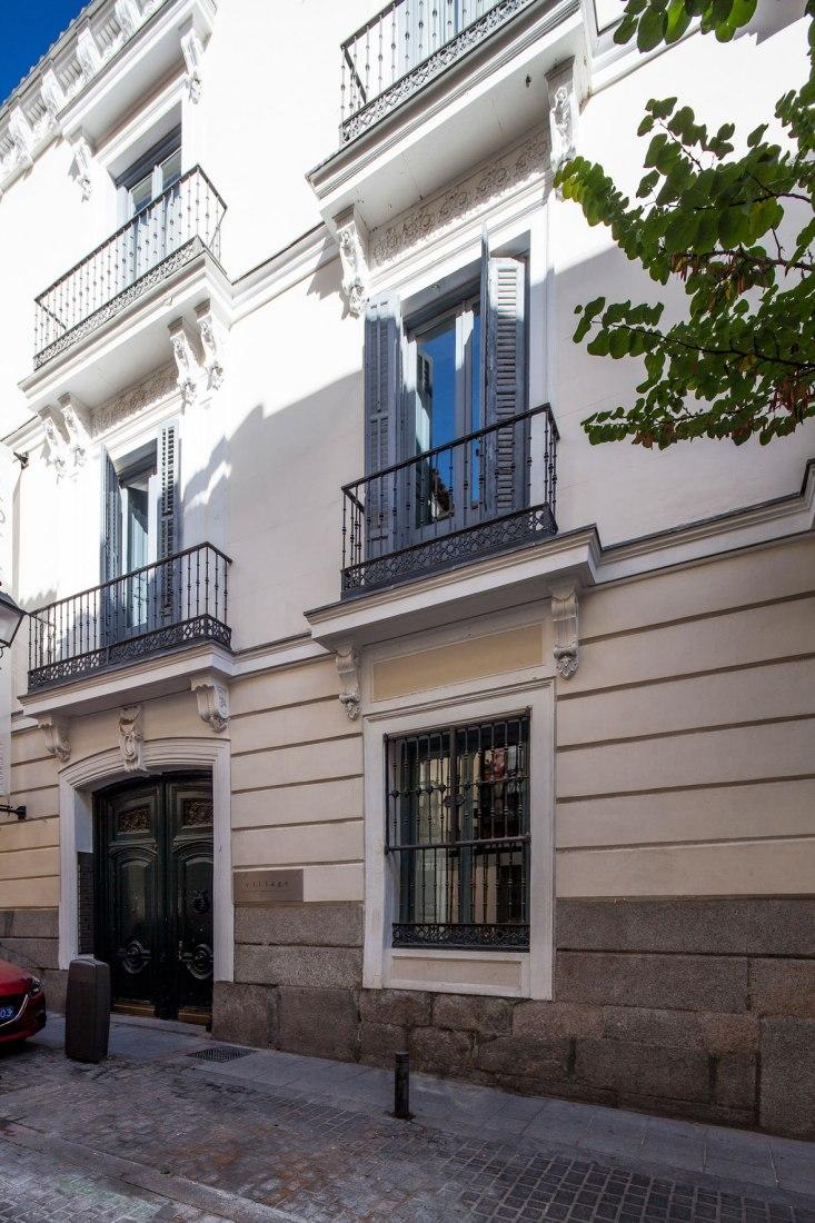 Vista exterior. The Sibarist Madrid. Imagen cortesía de The Sibarist.