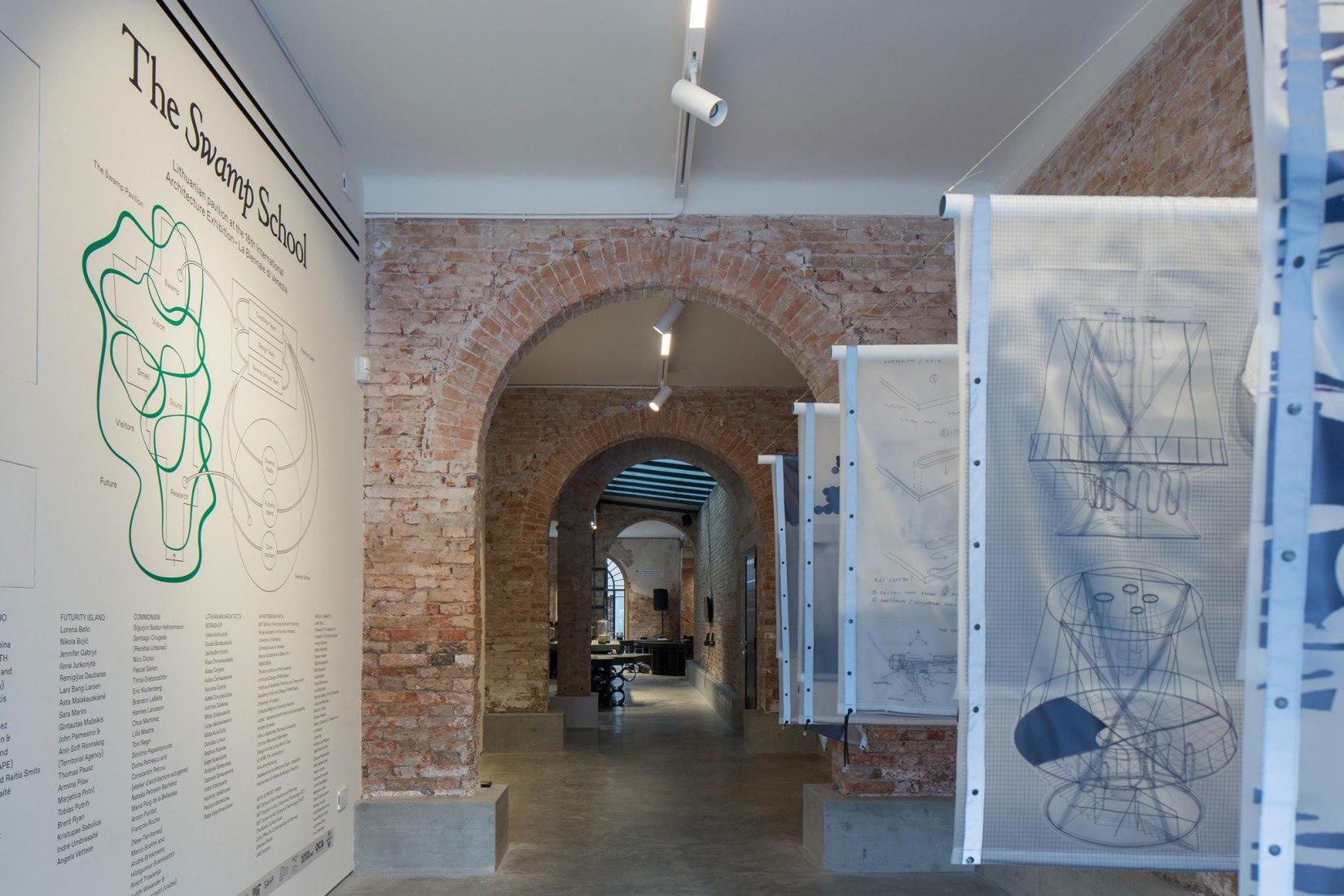 The Swamp Pavilion. Lithuanian Pavilion at the 16th Biennale Architettura di Venezia 2018. Photography by Norbert Tukaj