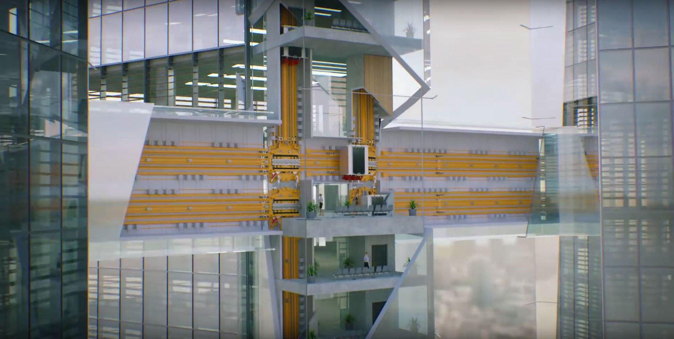 MULTI. The  Thyssenkrupp's Sideways-Moving Elevator