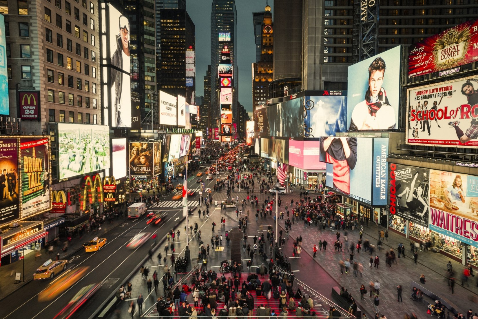 New Times Square by Snøhetta. Photograph © Michael Grimm