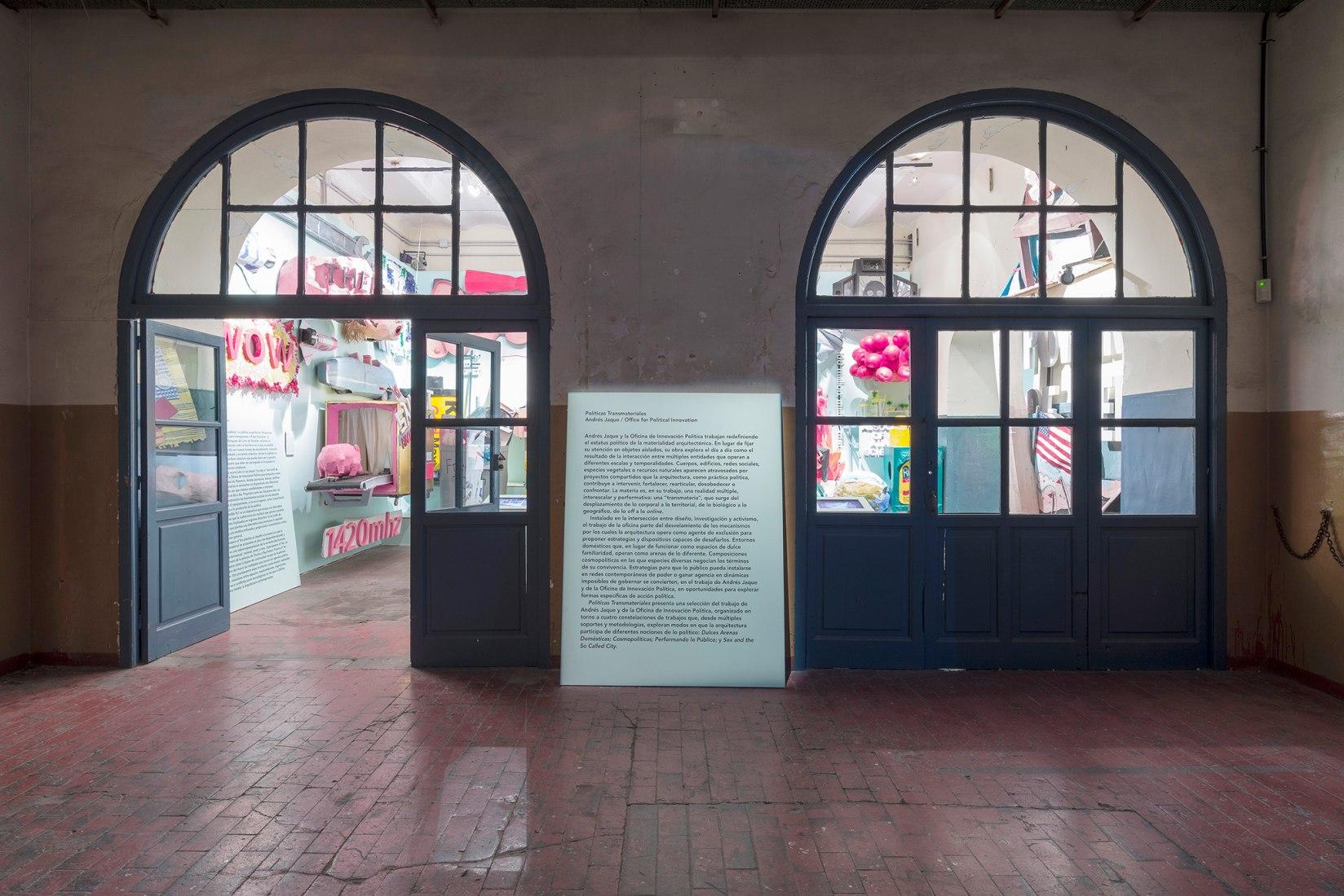 """Políticas Transmateriales. Andrés Jaque / Office for Political Innovation."" Imagen cortesía de Andrés Jaque Architects."