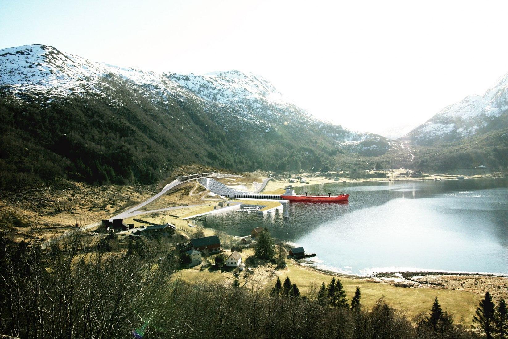 Imagen cortesía de la Administración Costera Noruega/Snøhetta
