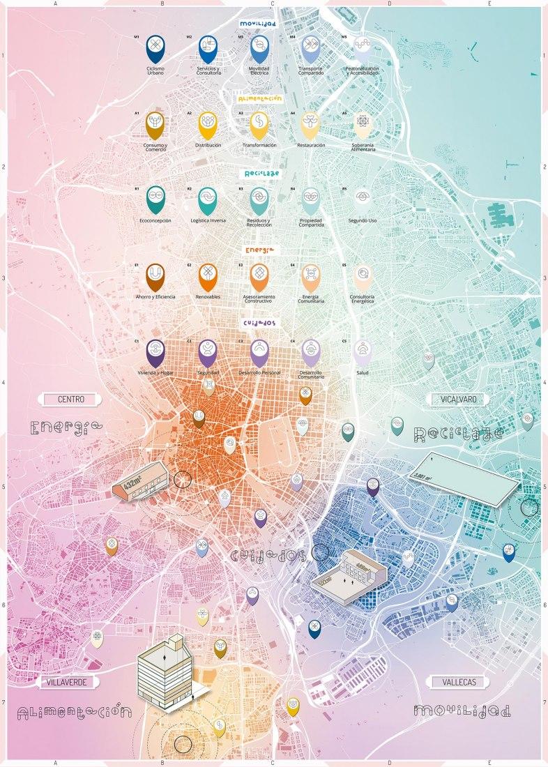 Mapping Cartografía. Mares de Madrid: Resilient Spatial Processes by Estudio SIC - Todo por la praxis TXP