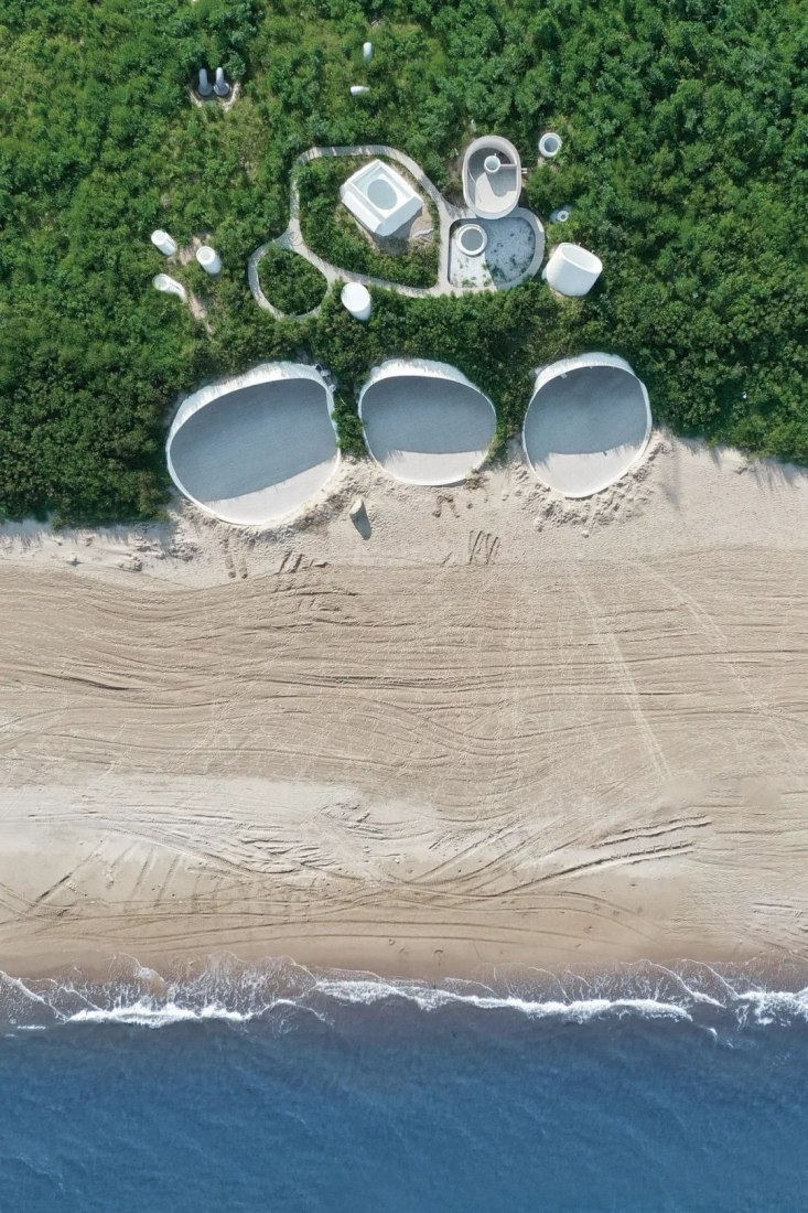 Overview. UCCA Dune Art Museum by Open Architecture. Image by Zaiye Studio
