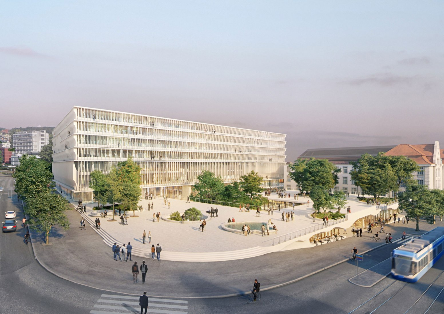 FORUM UZH by Herzog & de Meuron. Image courtesy of Herzog & de Meuron