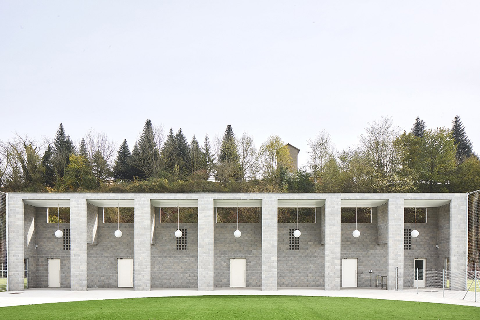 Instalaciones deportivas, Ágora por unparelld'arquitectes. Fotografía por José Hevia