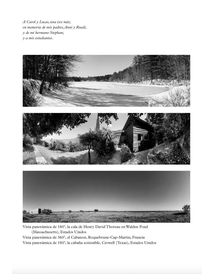 Interior pages. How Much House? Thoreau, Le Corbusier and the Sustainable Cabin  teriores. ¿Cuánta casa necesitamos? Thoreau, Le Corbusier y la cabaña sostenible.
