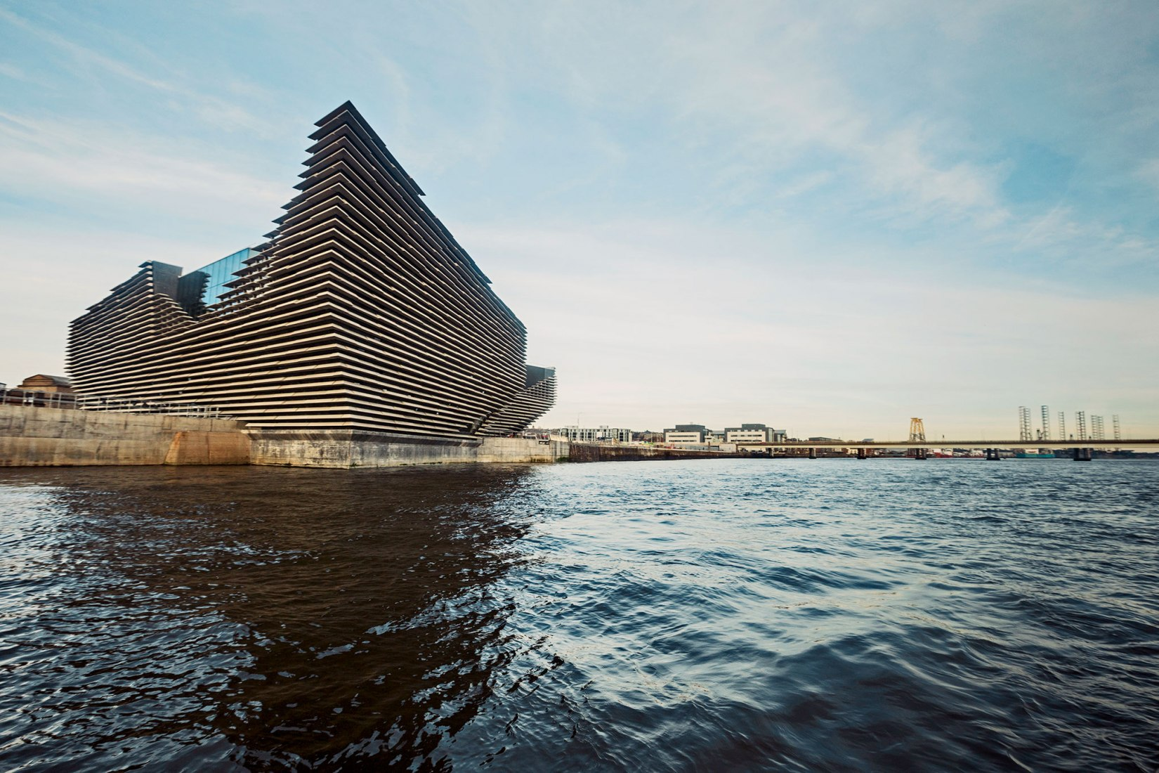 December 2017. V&A Dundee by Kengo Kuma. Image courtesy of V&A Dundee.