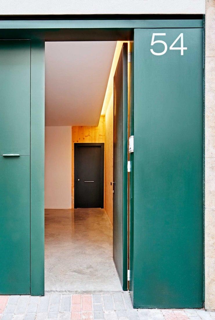 59RUT Casa entre medianeras por Vallribera Arquitectes y BAMMP. Fotografía por José Hevia