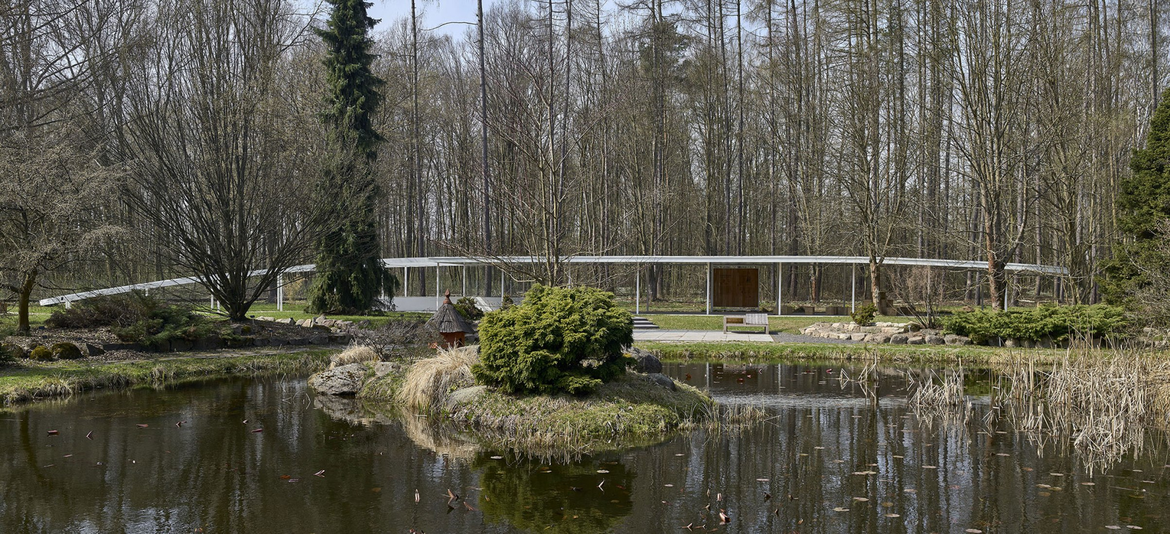 World's vanishing plants garden and Educational Pavilion by JRK72. Photograph by Jakub Certowicz