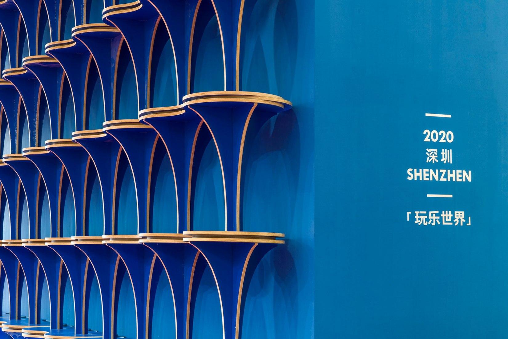 Pabellón para la Exposición Design in Bay Area por Various Associates. Fotografía por Yongmao Li