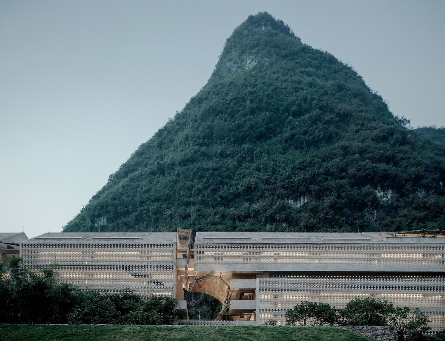 New Alila Yangshuo hotel by Vector Architects. Photograph © Vector Architects