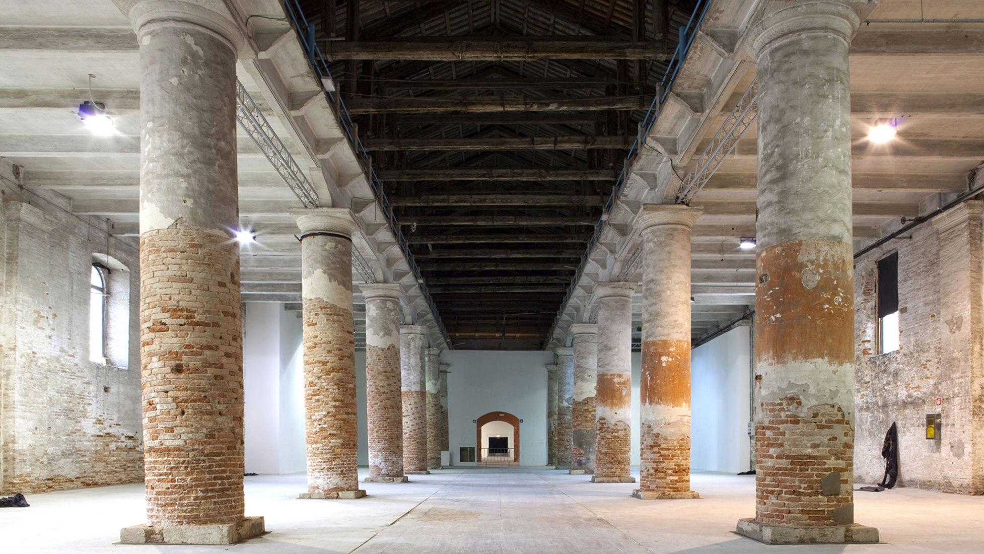 Venice Biennale Corderie Arsenale, Venice. Photograph © Giulio Squillacciotti. Image Courtesy of La Biennale di Venezia