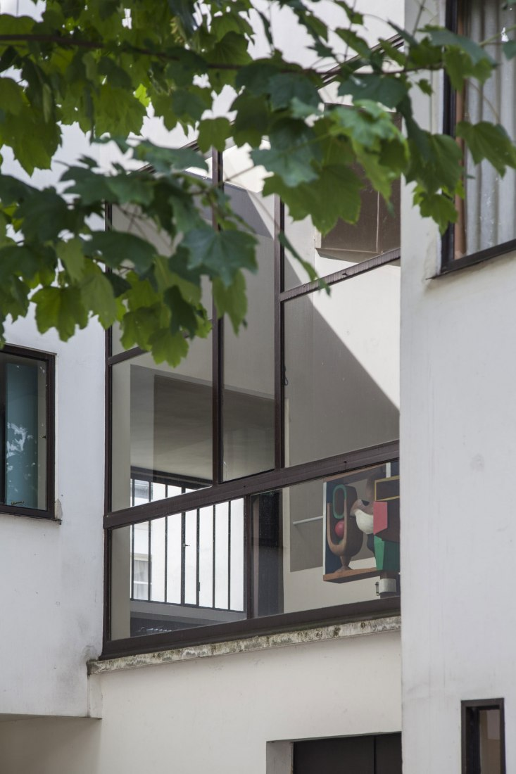 Detalle ventana. Casa La Roche-Jeanneret. Fotografía © Montse Zamorano.