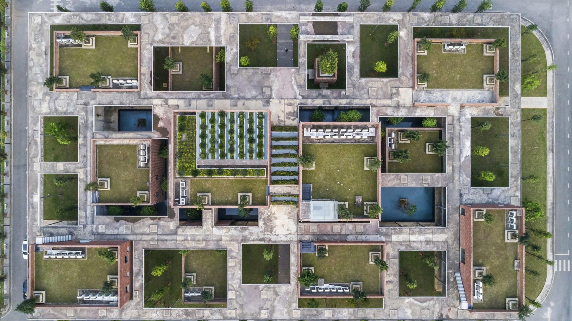 Viettel Academy educational center by VTN Architects. Photograph by Hiroyuki Oki