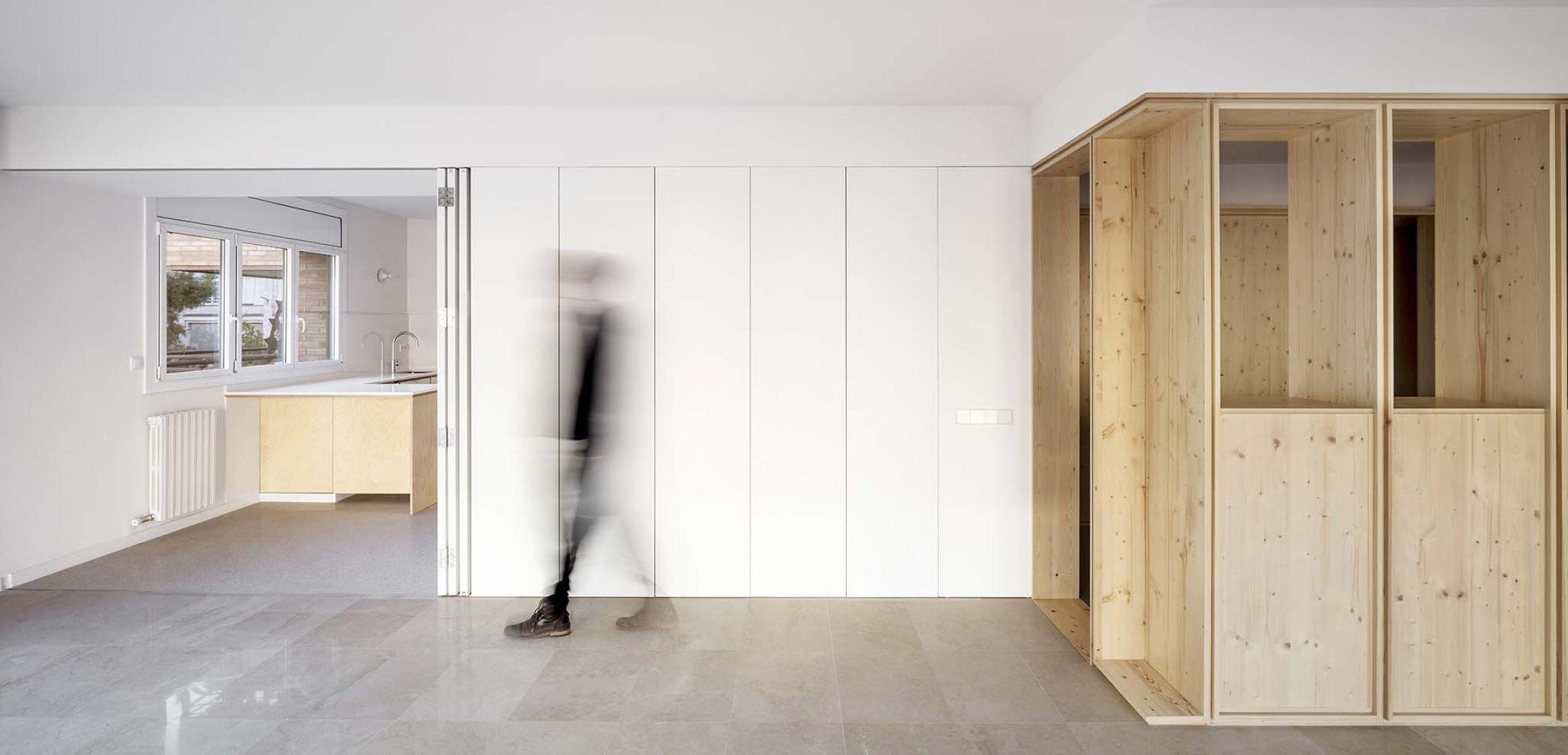Apartamento Àngels i Inhar por Vora. Fotografía por Adrià Goula