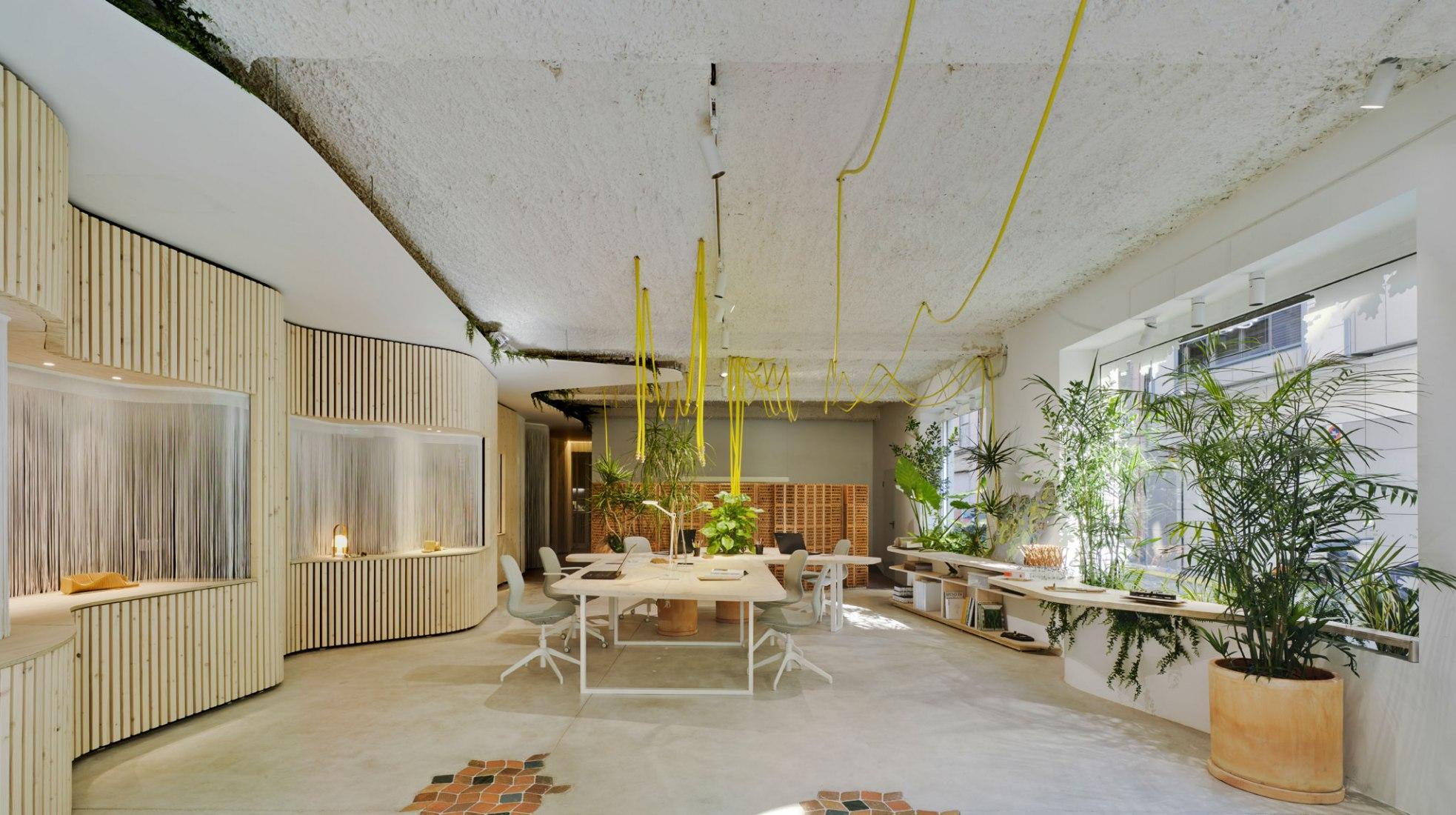 Un jardín de trabajo por WOHA by Antonio Maciá. Fotografía por David Frutos.