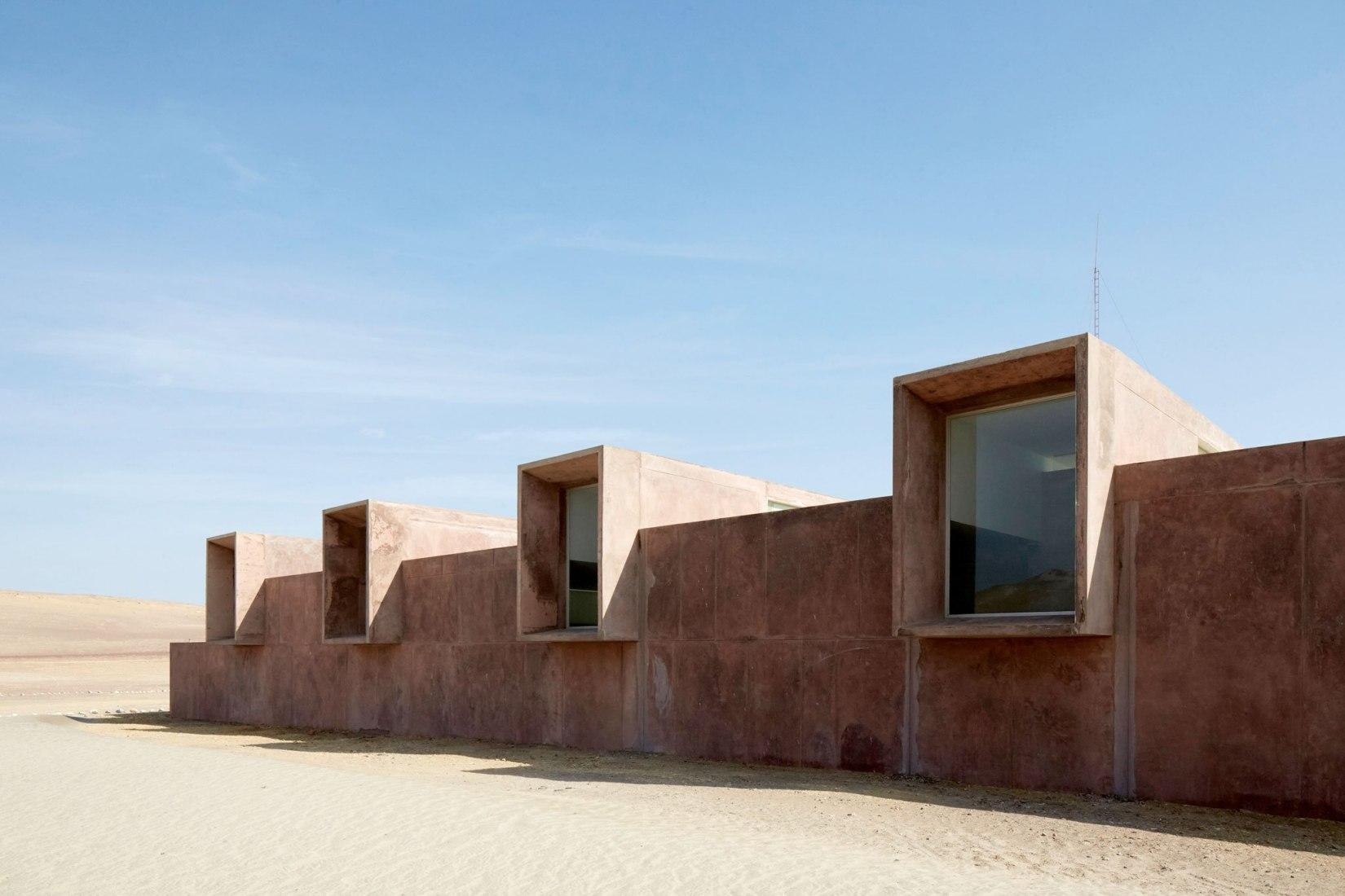 Museo de Sitio de Paracas, en Perú por Barclay & Crousse. Imagen © Jean Pierre Crousse