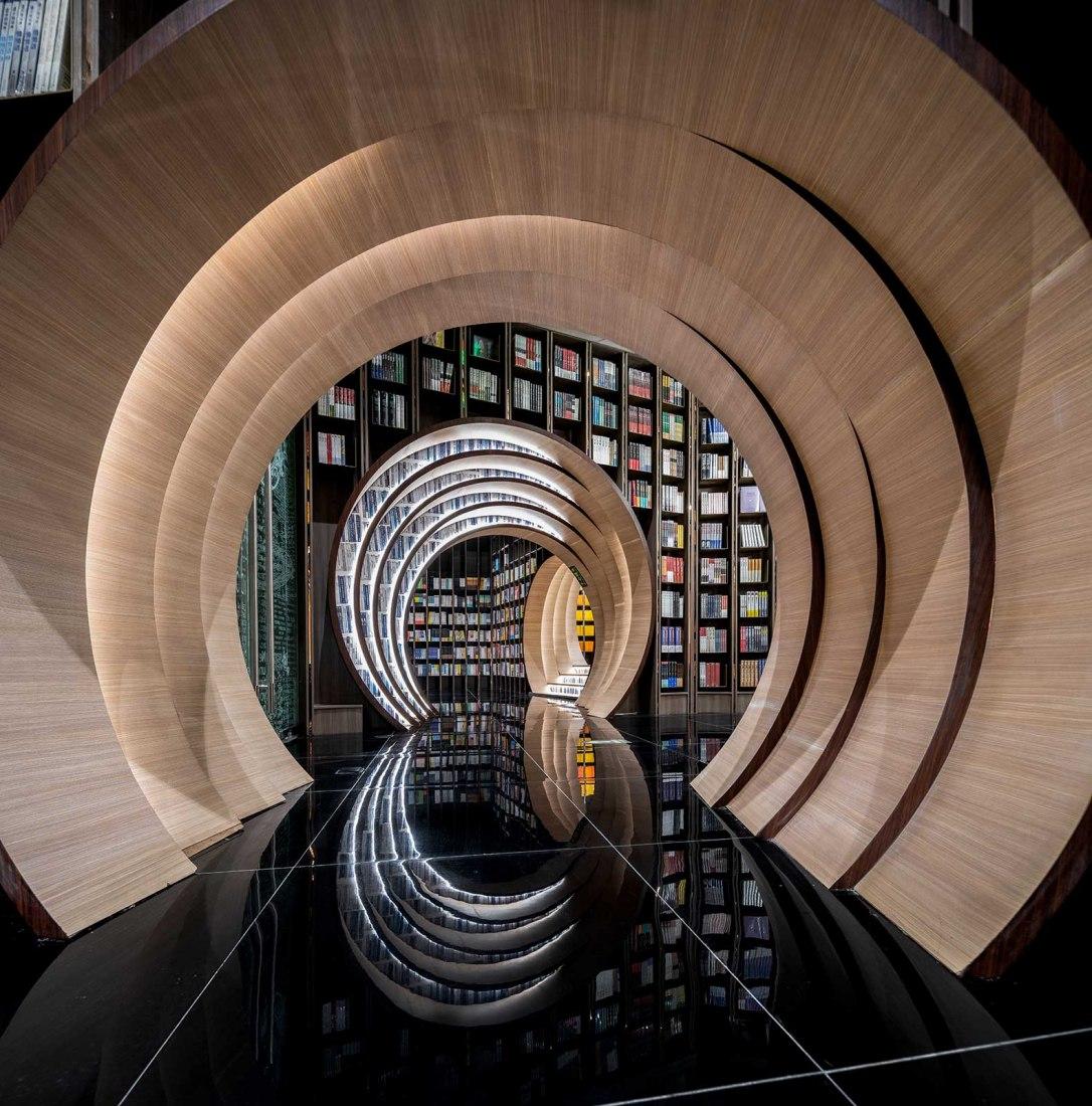 Beijing Zhongshuge Lafayette store por X+LIVING. Fotografía por Wu Qingshan
