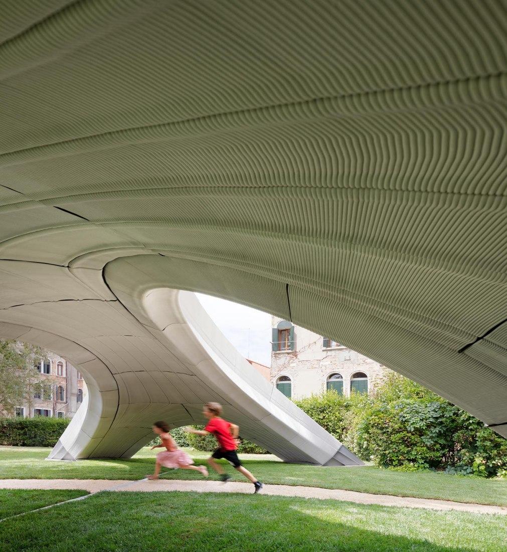 Striatus por Zaha Hadid Architects, ETH. Fotografía por Naaro.