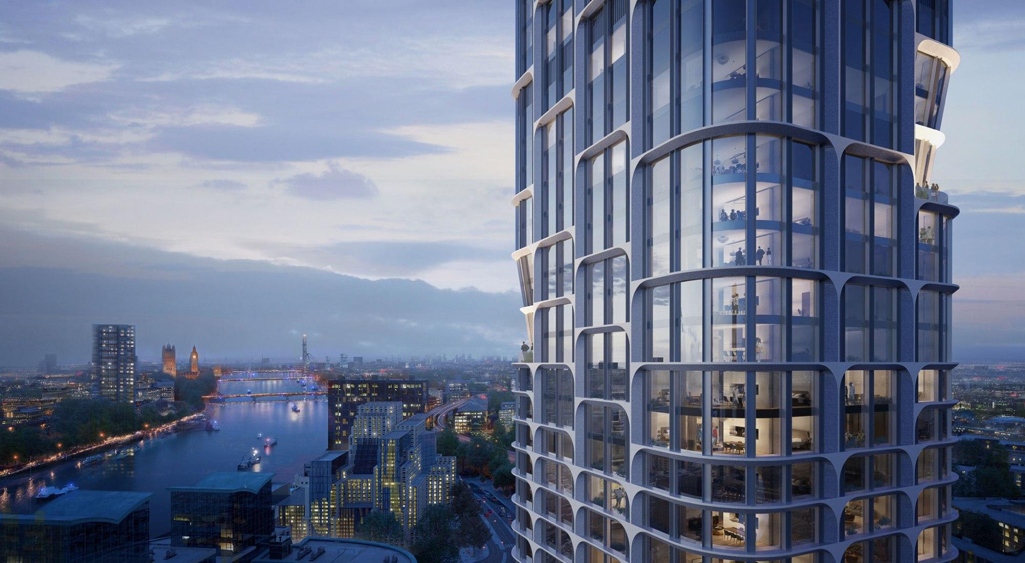 Detail. Rendering. Image © Slashcube / Zaha Hadid Architects