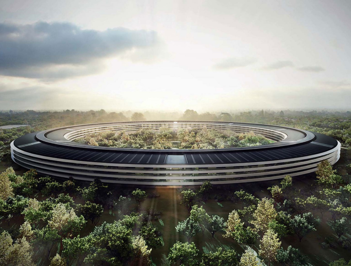 Apple Campus Project 2013 por Foster + Partners