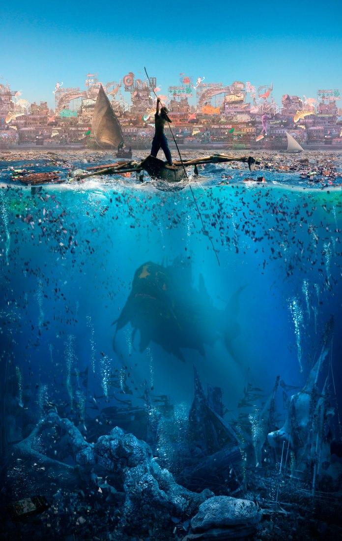 Imagen diseñada para la película Jonah. Por Factory Fifteen.