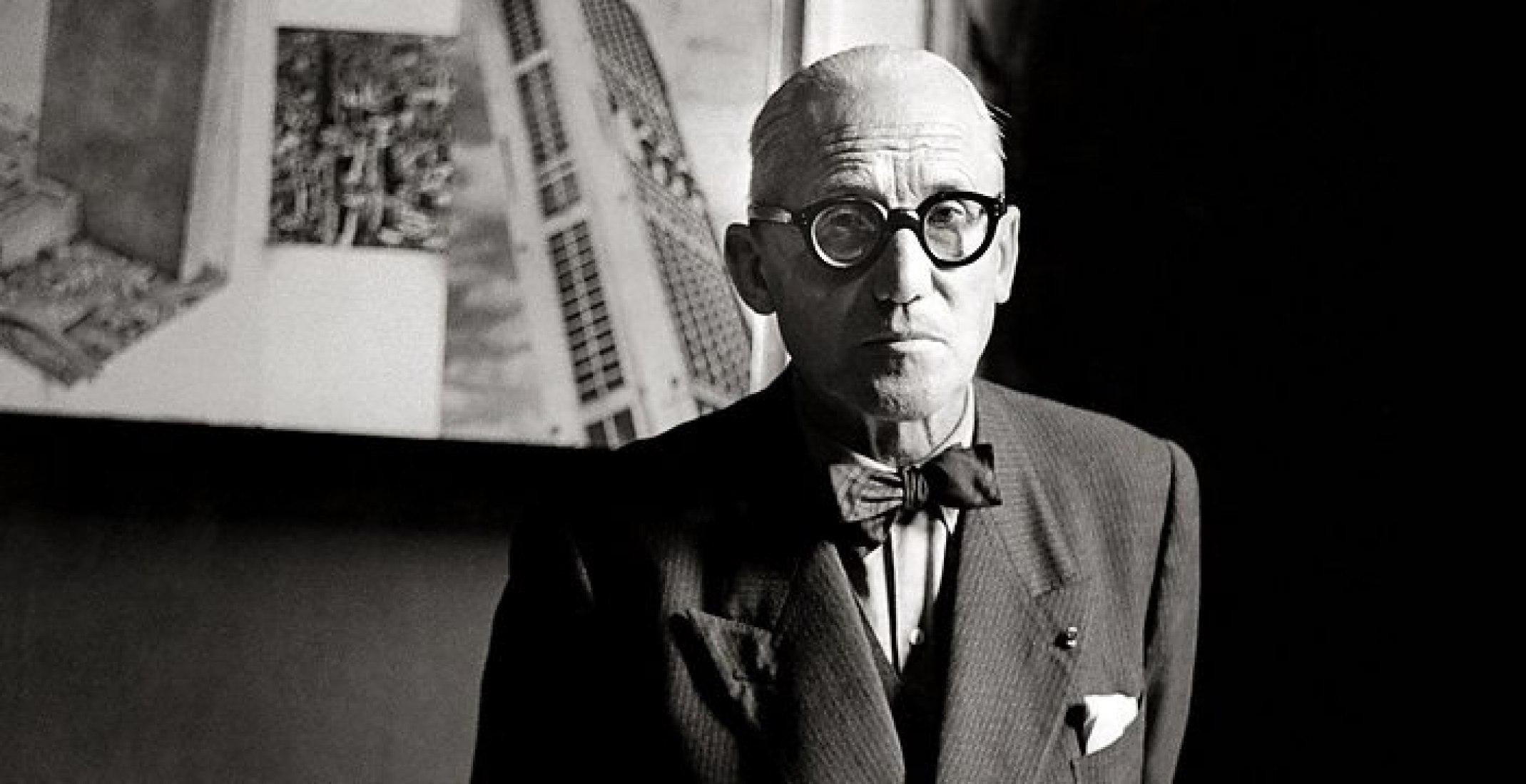 Le Corbusier y Salvador Dalí en la BBC