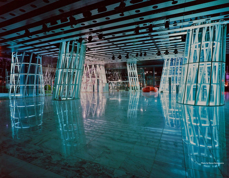Sendai Mediatheque, 1995—2000, Sendai-shi, Miyagi, Japan. Photo by Naoya Hatakeyama
